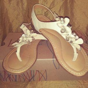 1fd559f9c6dd Kids  White Wedding Sandals on Poshmark